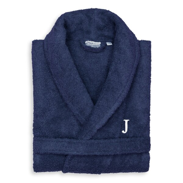Cowling Personalized 100% Turkish Cotton Bathrobe by Red Barrel Studio